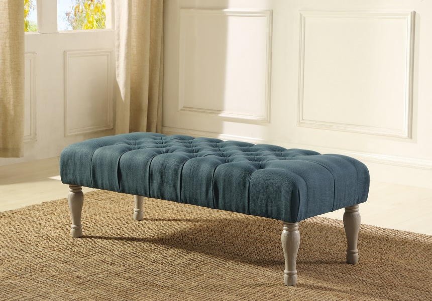 ACCENT BENCH - BLUE