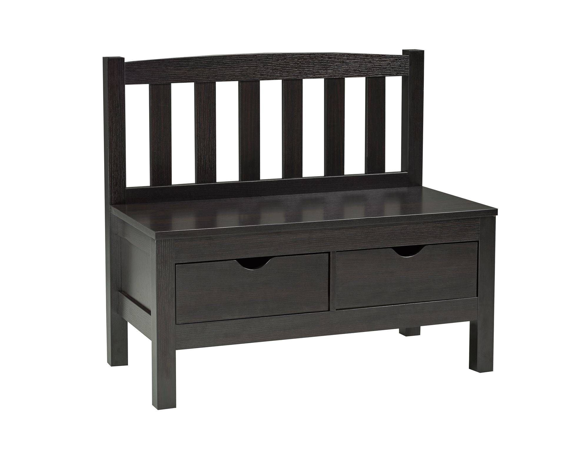 ACCENT BENCH - DARK CHERRY