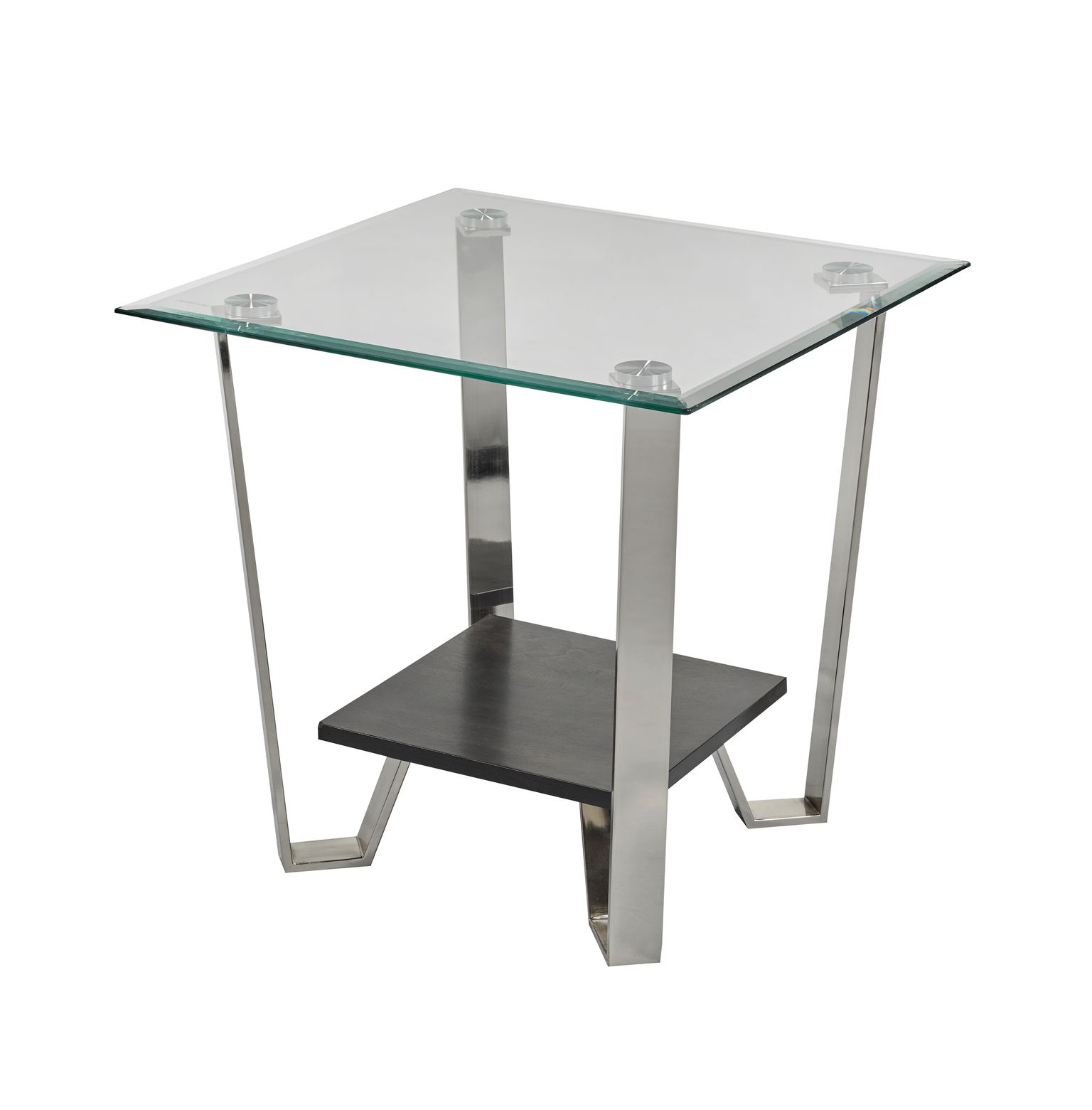AVALON END TABLE ESPRESSO 24X24X24