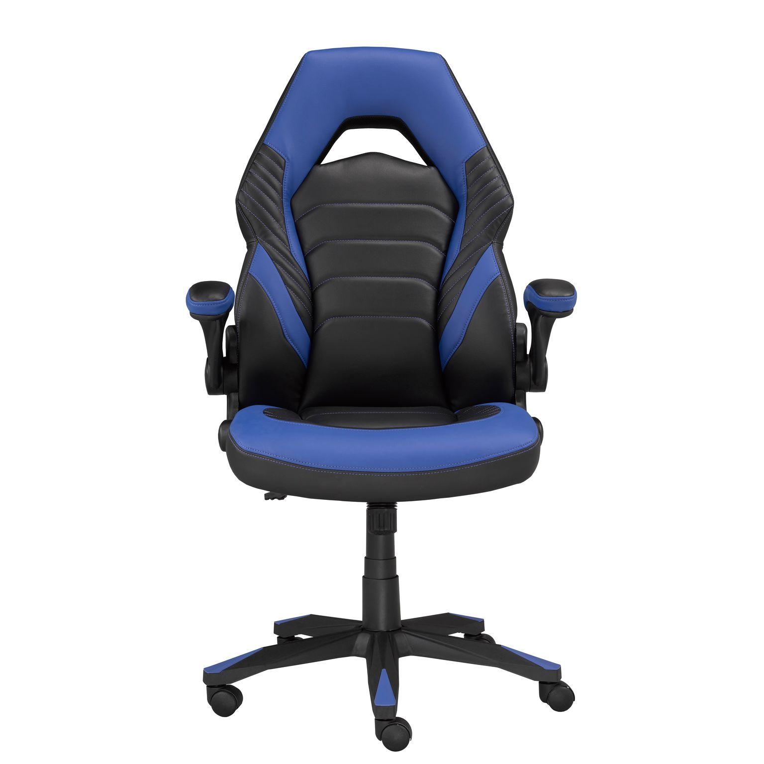 MIA OFFICE CHAIR - BLACK/BLUE