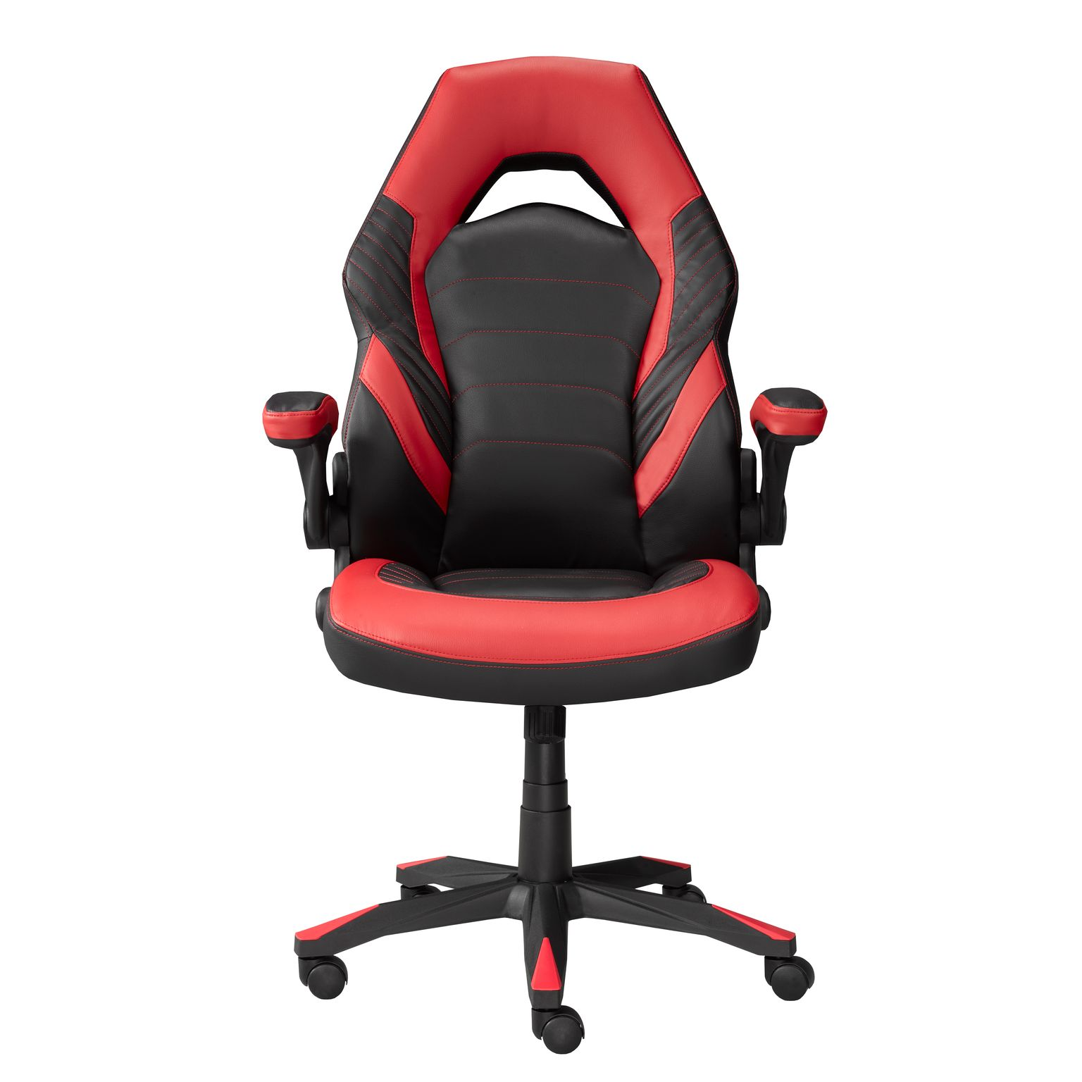 MIA OFFICE CHAIR - BLACK/RED