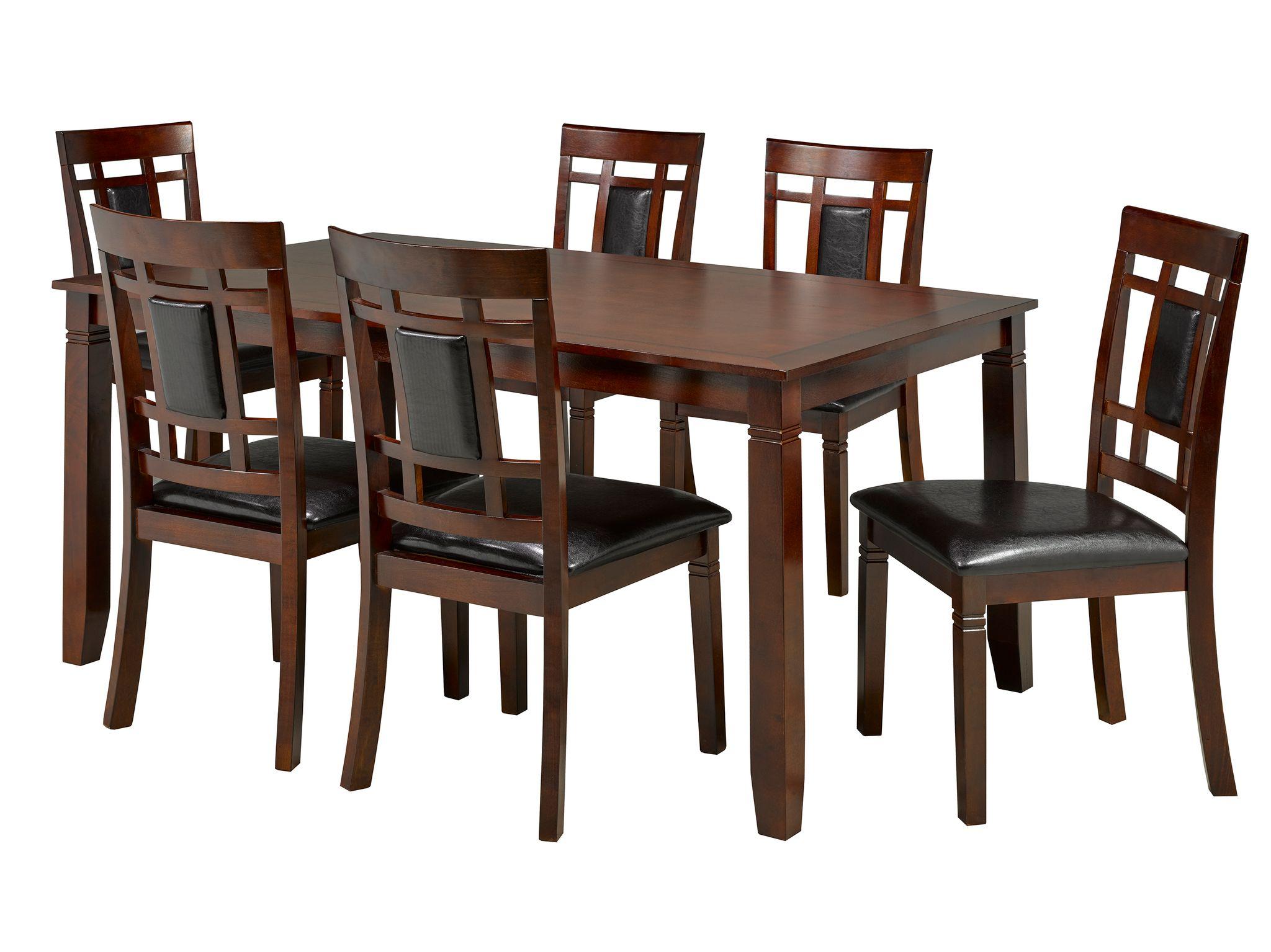 7-PIECE DINING TABLE SET - ESPRESSO