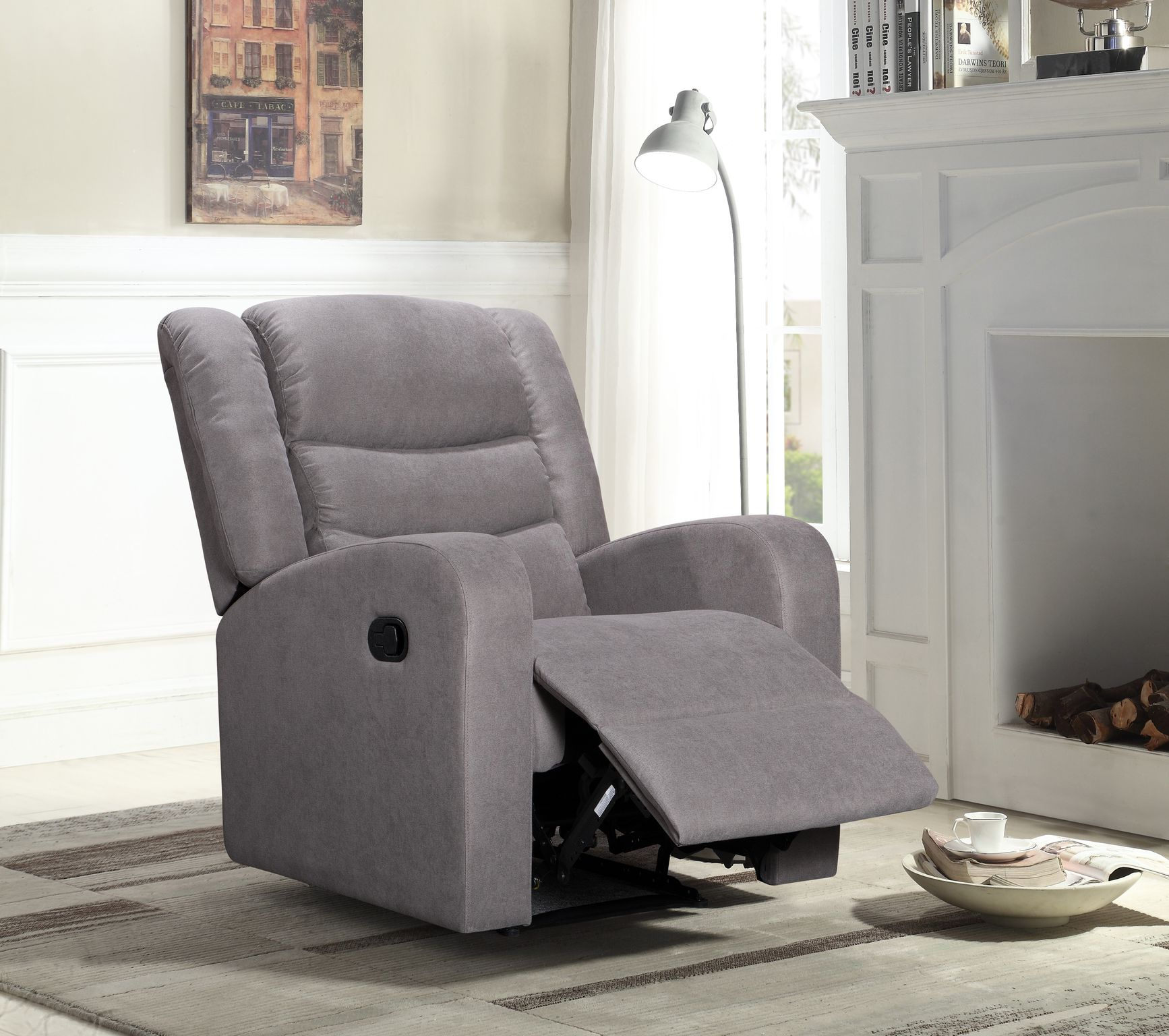 RECLINER TAUPE