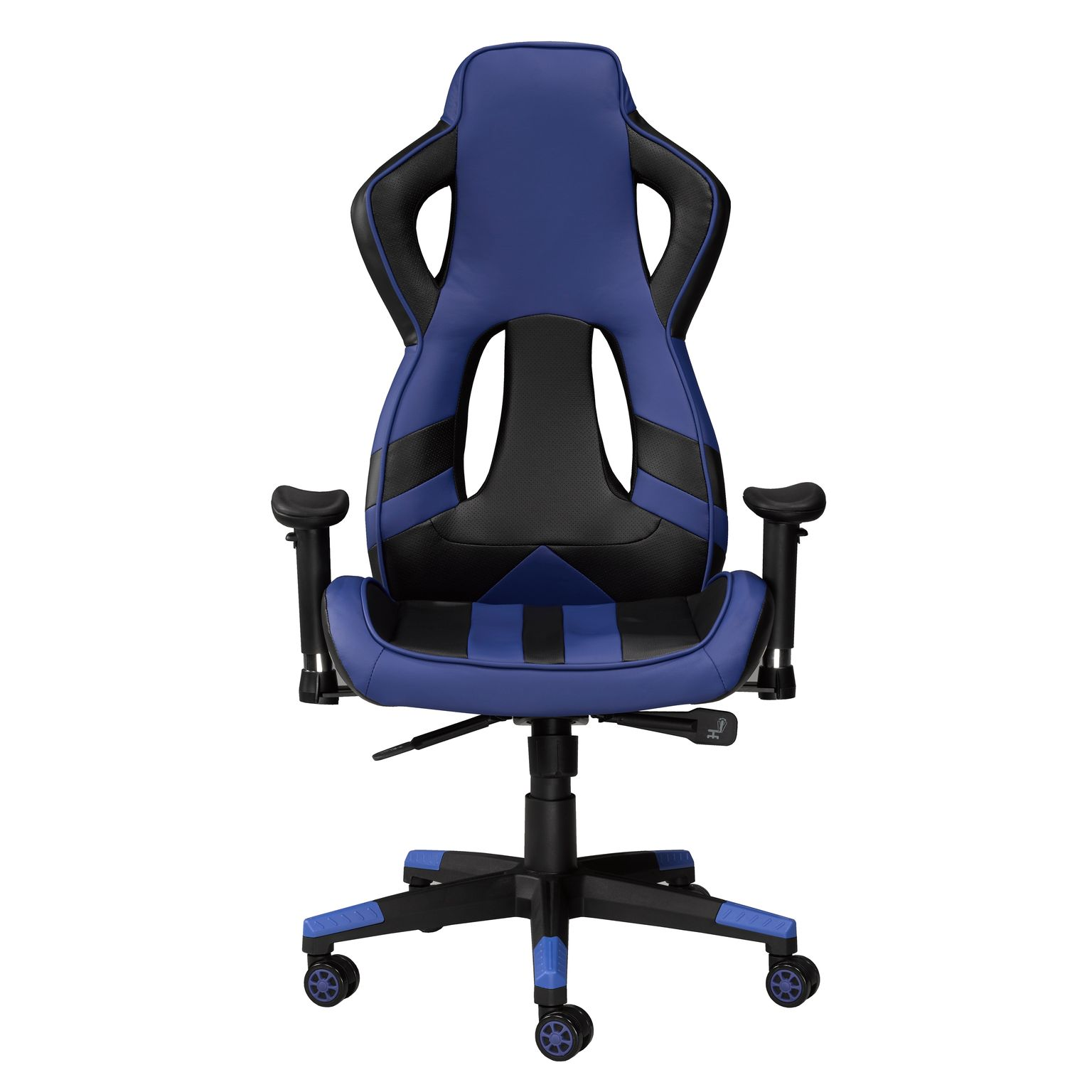 OFFICE CHAIR - BLACK/BLUE