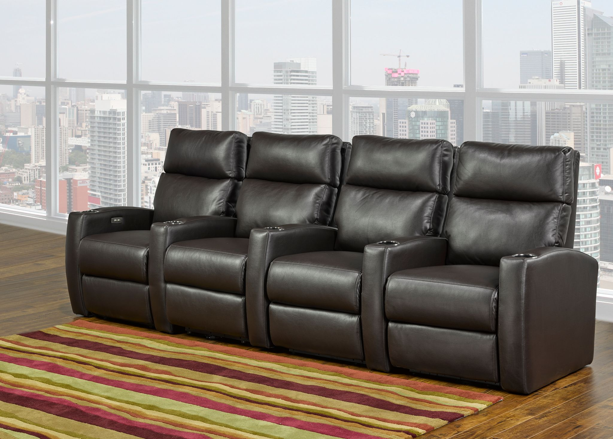 4-SEATER HOME THEATER