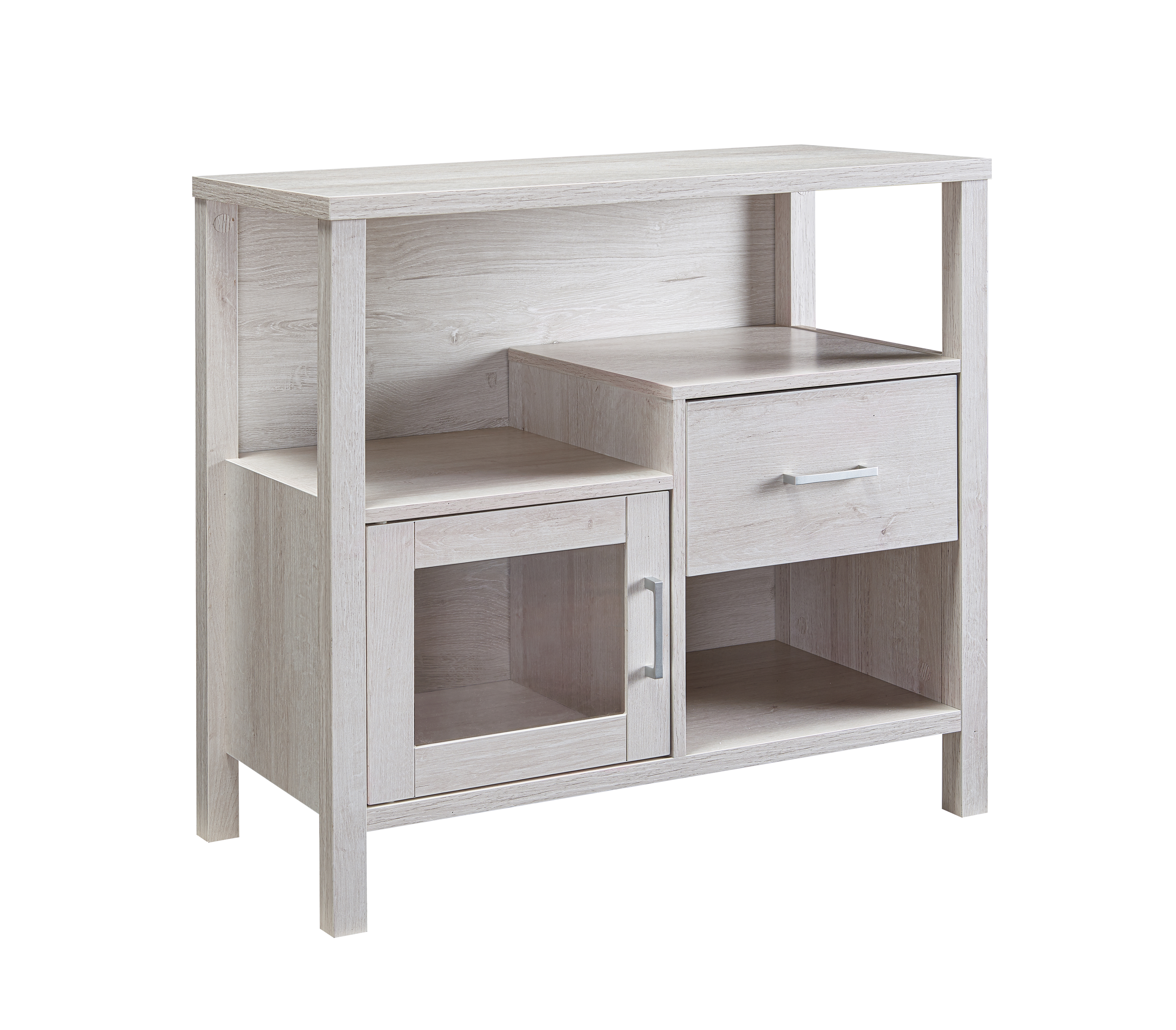 STORAGE CABINET - WHITE OAK