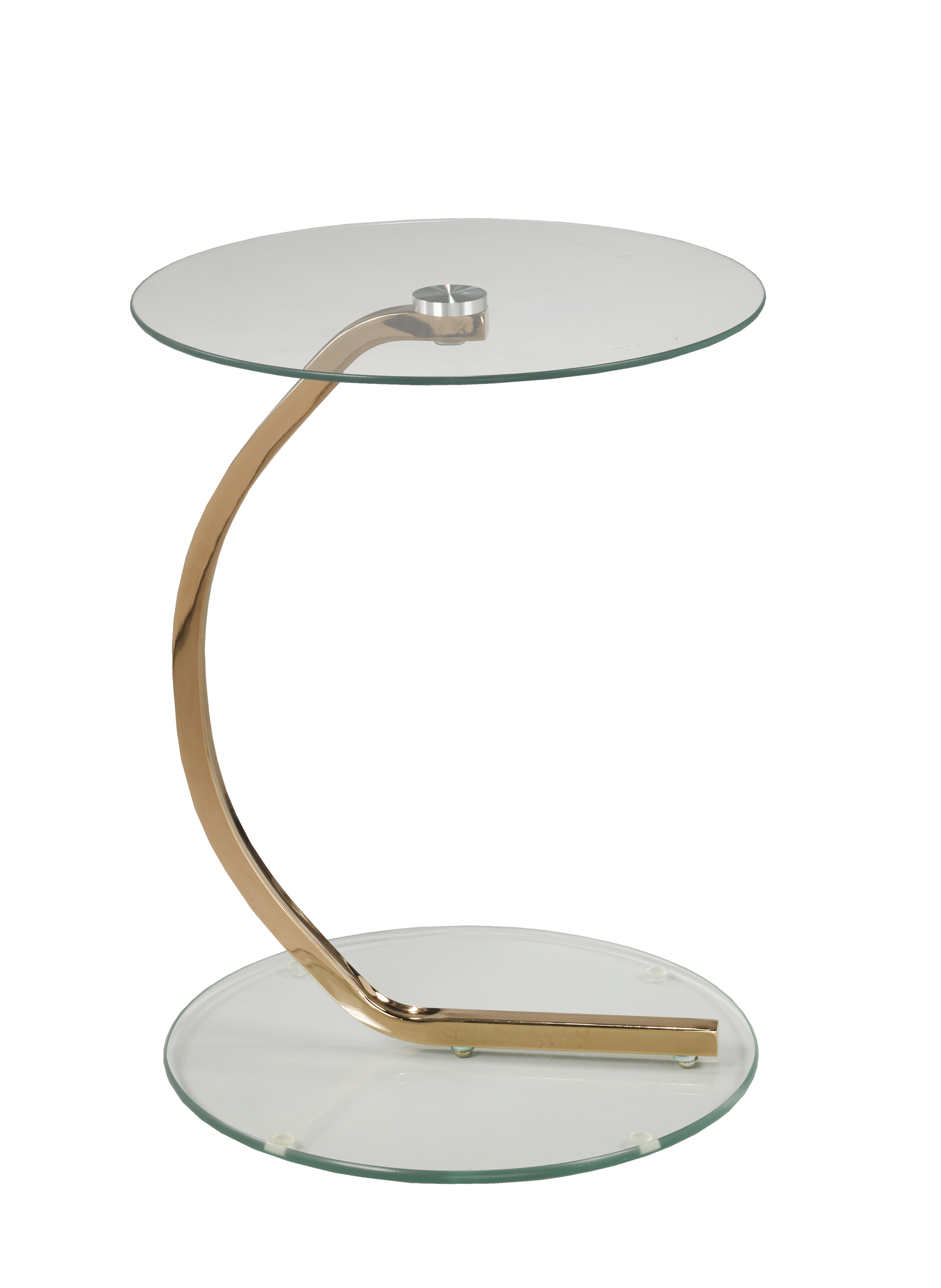 ACCENT TABLE - ROSE GOLD