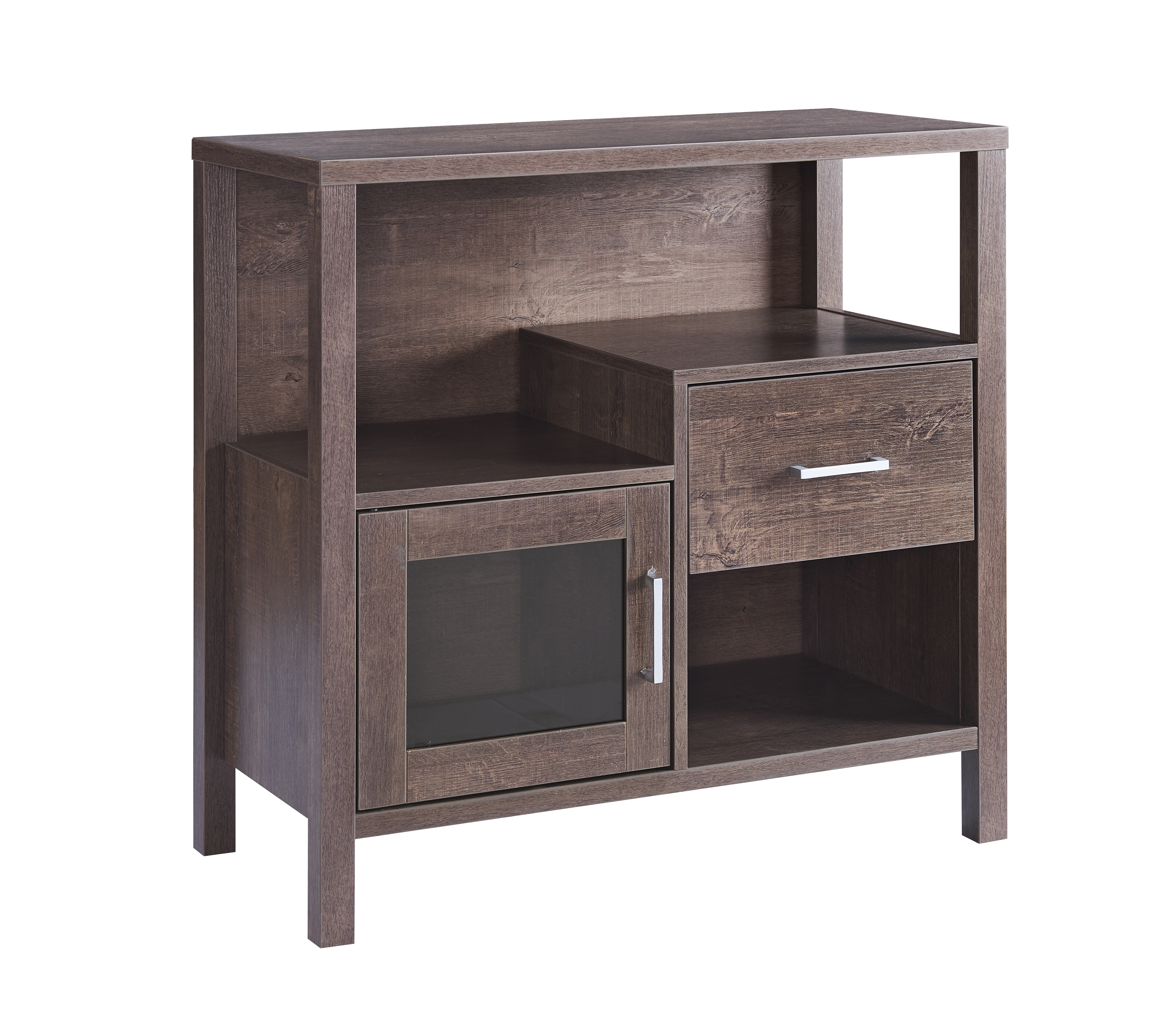 STORAGE CABINET - WALNUT OAK