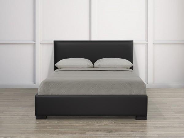 QUEEN PLATFORM BED, BLACK