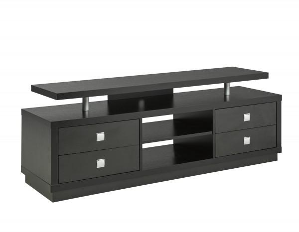 66'' TV STAND - BLACK