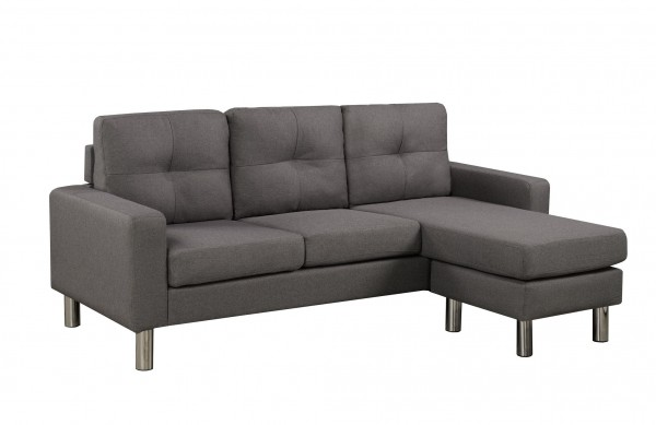 SECTIONAL DARK GREY