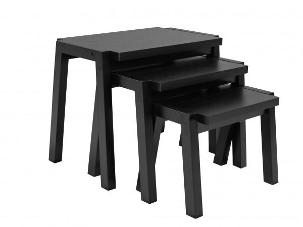 NESTING TABLES - BLACK