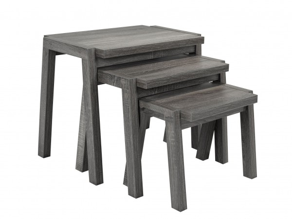 NESTING TABLES - GREY