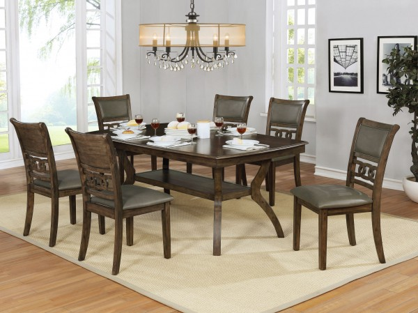 EASTON 7-PIECE DINING SET