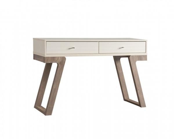 CONSOLE TABLE - IVORY/HAZELNUT