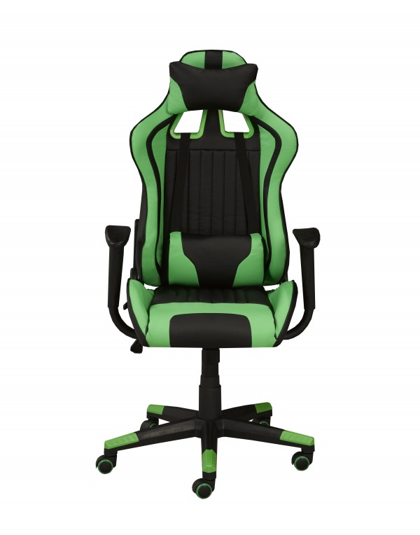 OFFICE CHAIR - BLACK/GREEN