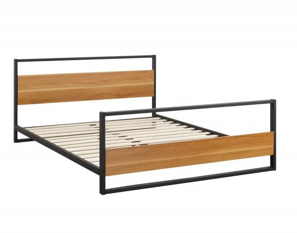 TWIN PLATFORM BED BROWN