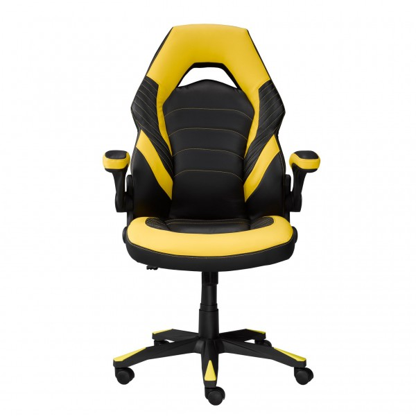 MIA OFFICE CHAIR - BLACK/YELLOW