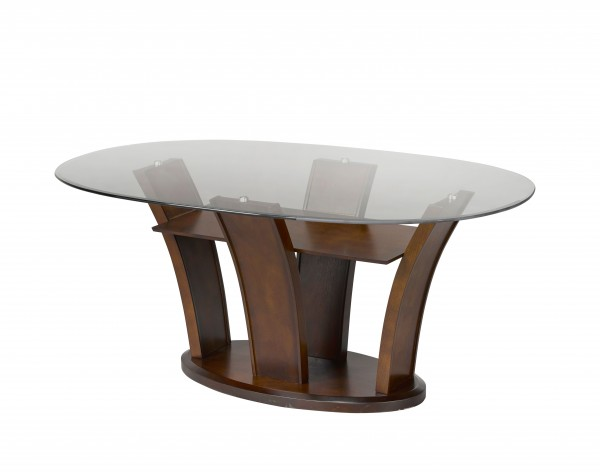 AMBROSE OVAL DINING TABLE