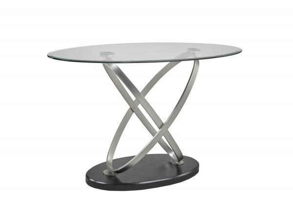 SOFA TABLE - BLACK/SILVER