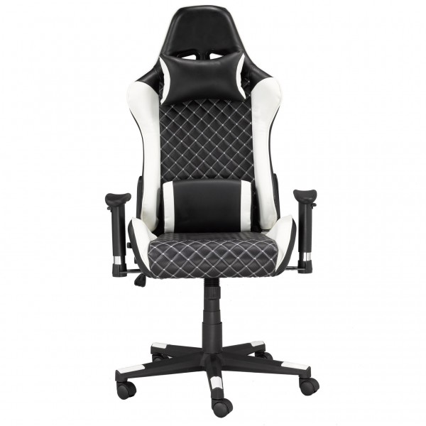 OFFICE CHAIR - BLACK/WHITE