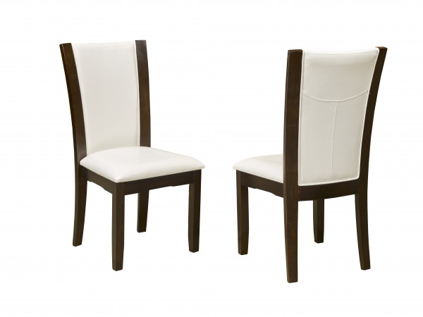 AMBROSE SIDE CHAIR WHITE (DINING CHAIR SET OF 2 )