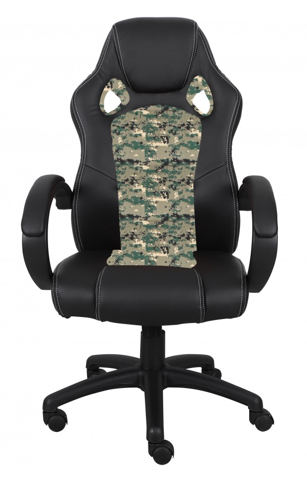 OFFICE CHAIR - BLACK/CAMO