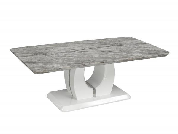 COFFEE TABLE - WHITE/GREY