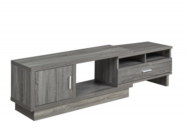 48'' EXPANDABLE TV STAND - GREY