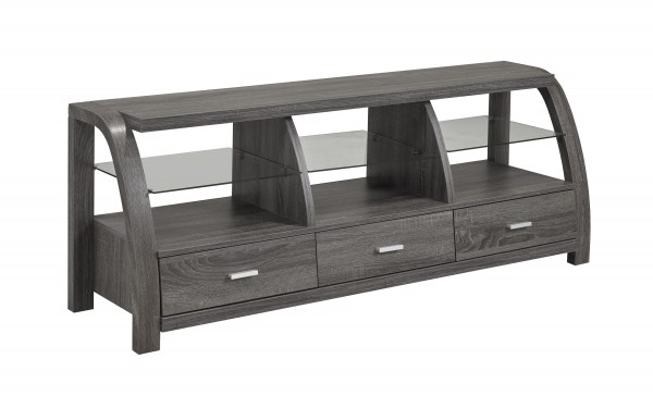 60'' TV STAND - GREY