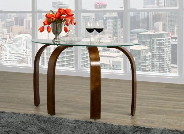 Houston Sofa Table, Dark Walnut