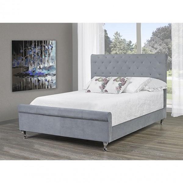 VICTORIA - QUEEN BED (GREY)