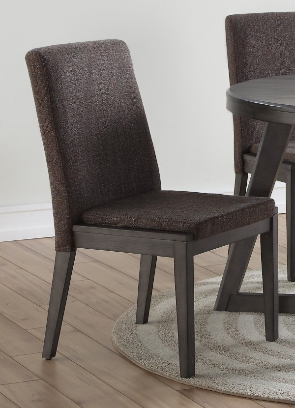 DINING CHAIR, SET OF 2 - GREY