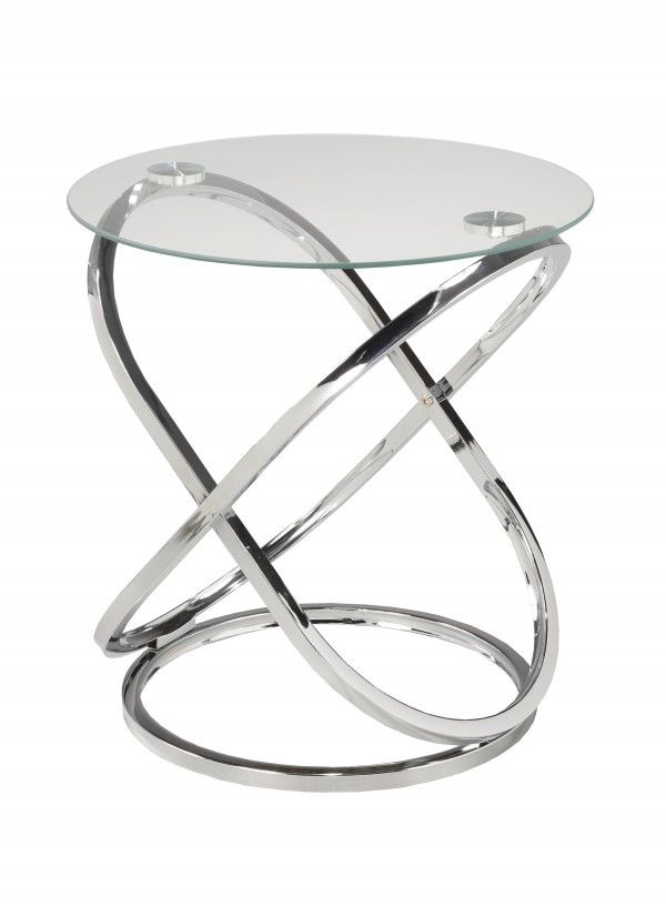 ACCENT TABLE - SILVER