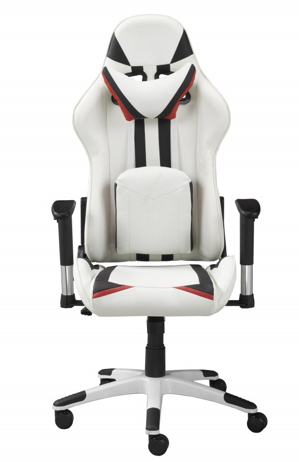 OFFICE CHAIR - WHITE/BLACK