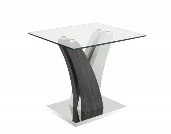 END TABLE - GREY/WHITE