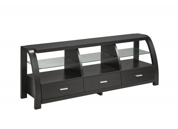 60'' TV STAND - DARK CHERRY