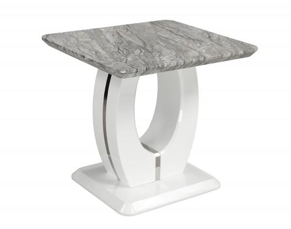 END TABLE - WHITE/GREY