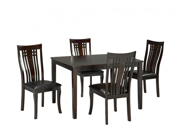 FAIRMONT 5PC KITCHEN TABLE SET CAPPUCCINO 36X48