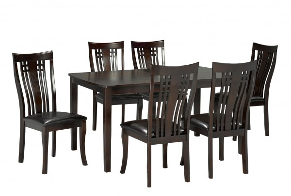 FAIRMONT 7PC KITCHEN TABLE SET CAPPUCINO 36X60