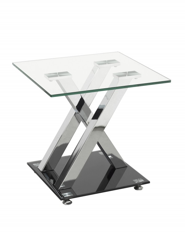 END TABLE - SILVER/BLACK