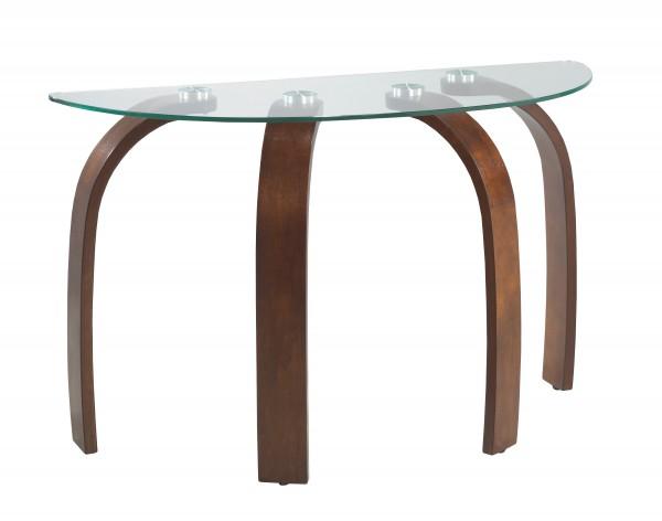 SOFA TABLE - DARK WALNUT