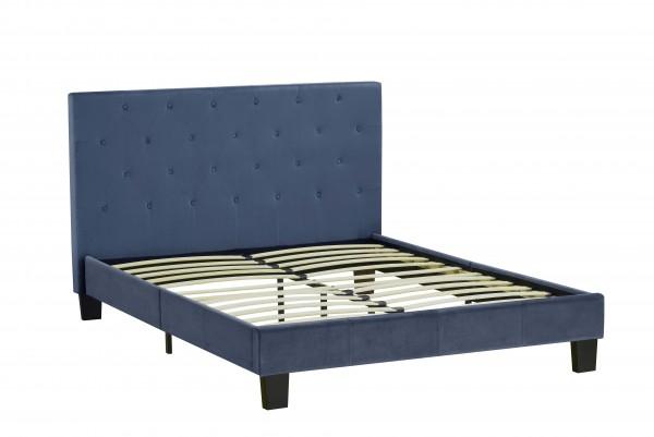 QUEEN PLATFORM BED - BLUE