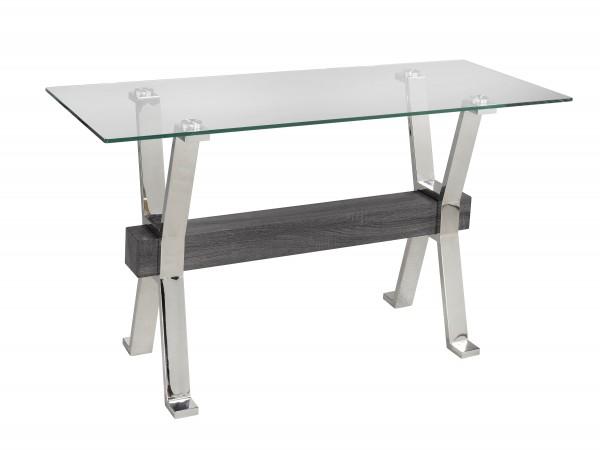 S0FA TABLE - GREY/SILVER