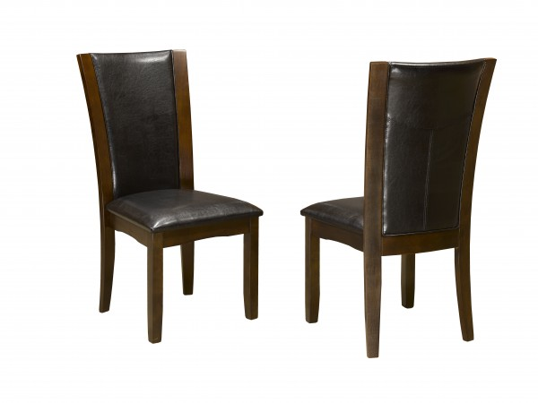 AMBROSE SIDE CHAIR BROWN 18