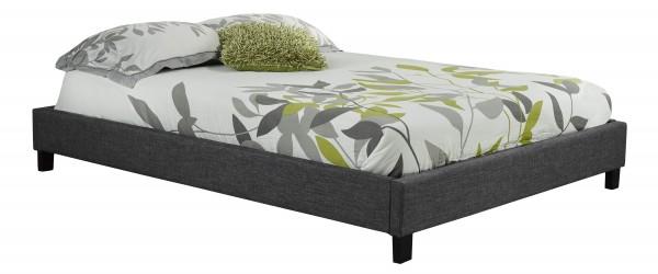 QUEEN/FULL/TWIN PLATFORM BED FRAME - GREY