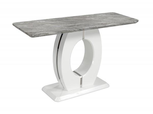 SOFA TABLE - WHITE/GREY