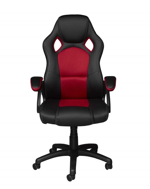 OFFICE DESK - BLACK/RED