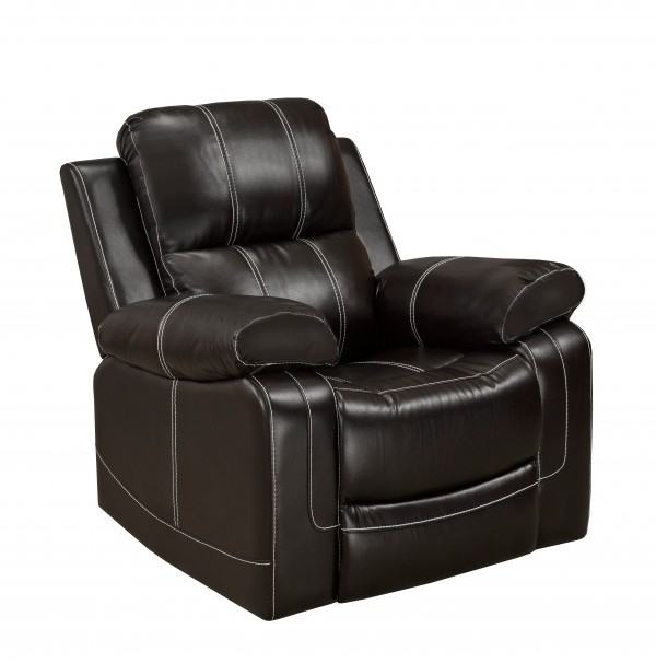RECLINER CHAIR - CHOCOLATE