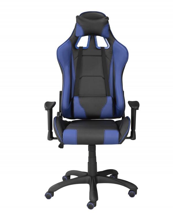 OFFICE CHAIR - BLACK/BLUE